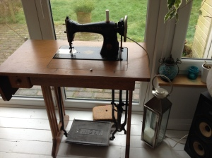 My vintage Singer treadle sewing machine