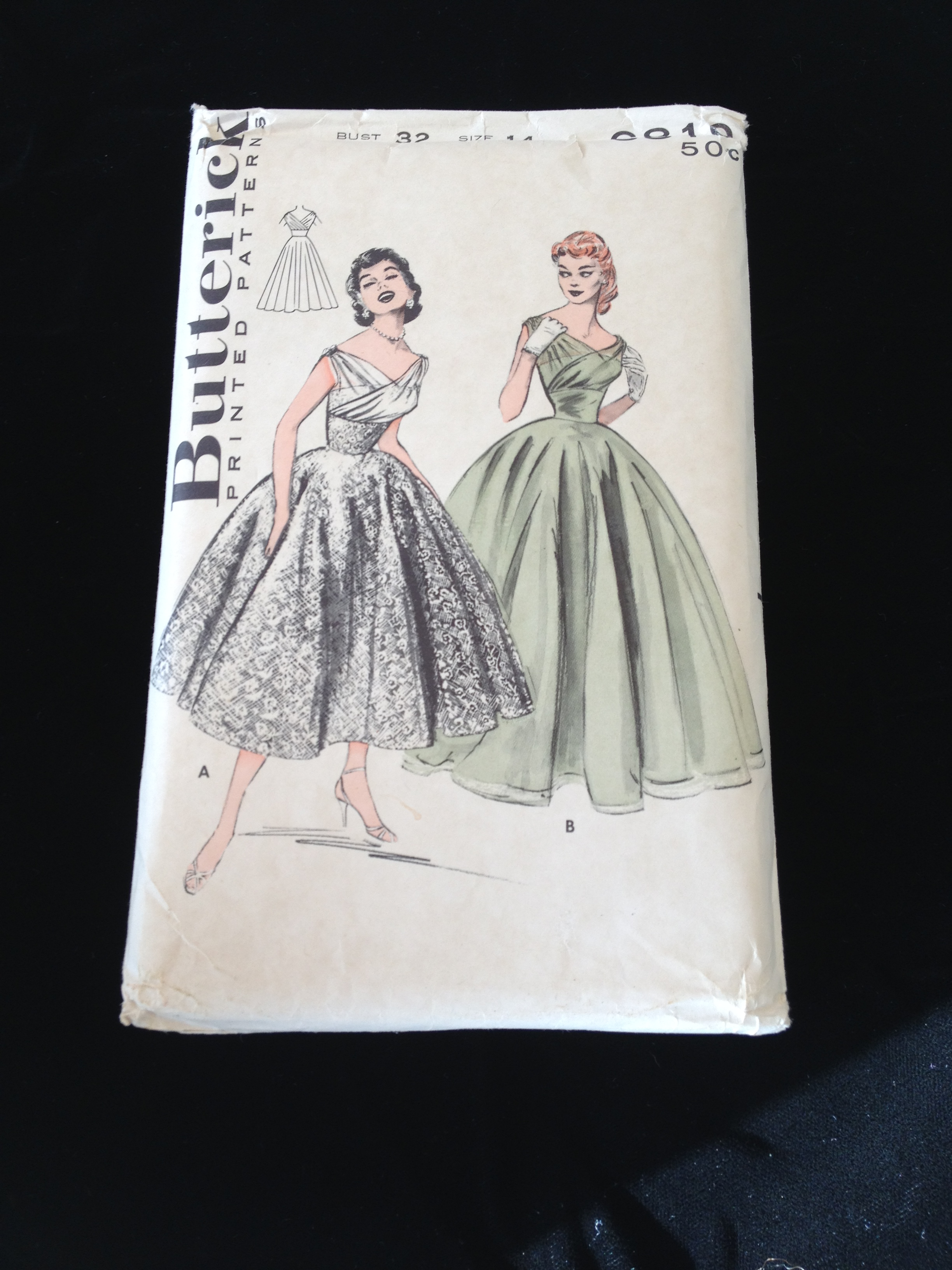 Collecting Vintage Sewing Patterns | musingsfromasewandsew