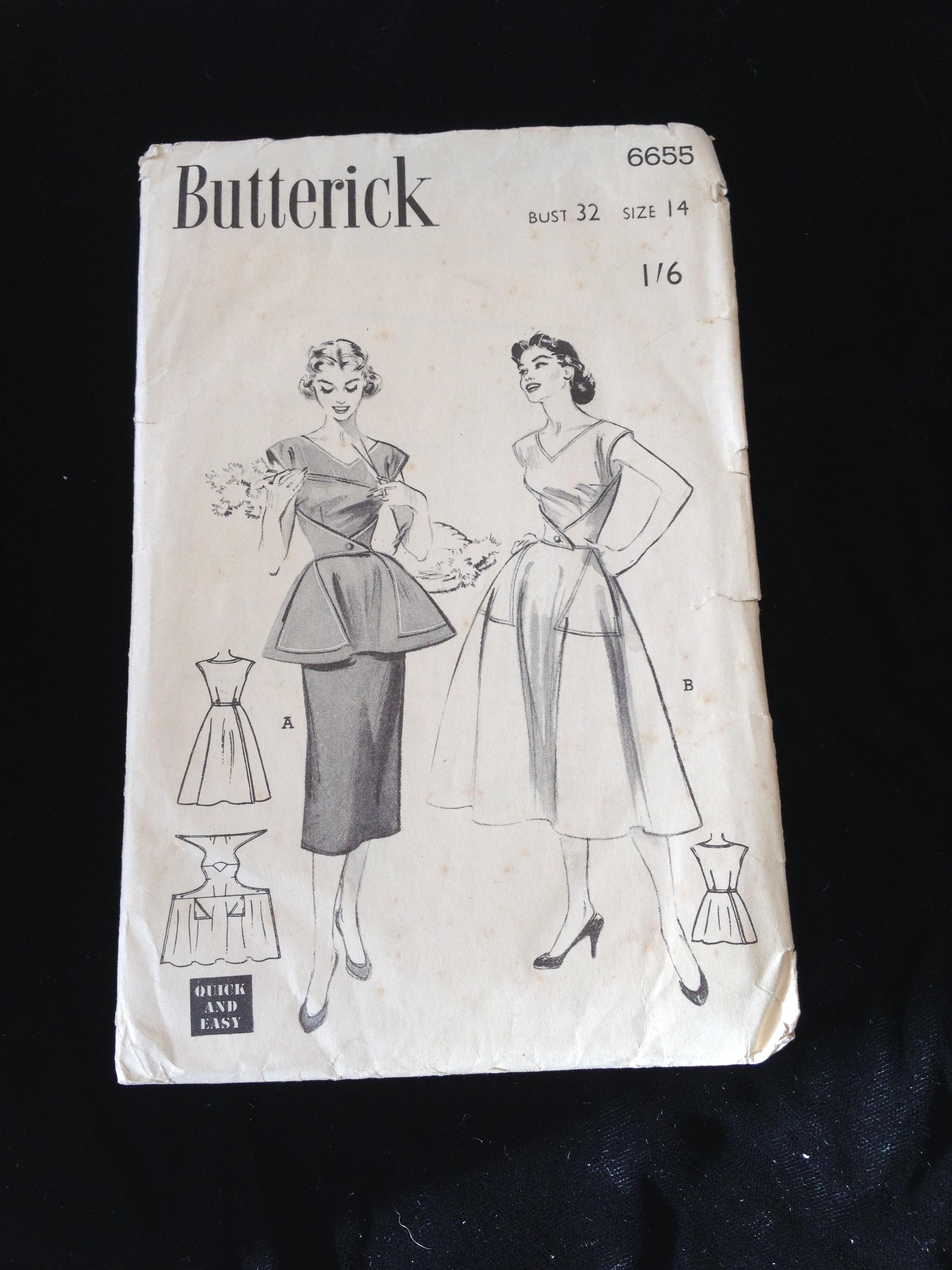 Vintage sewing musingsfromasewandsew vintage sewing patterns jeuxipadfo Choice Image