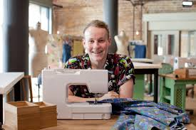 Let's hope Ryan continues with his sewing and finds himself on Savile Row before too long